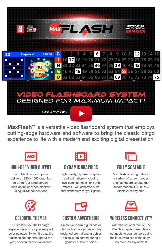 MaxFlash Video on YouTube