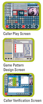 E-max Elite User Interface Screens