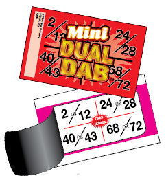 An example of a bingo event game