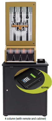 Nevada Gold Ticket Dispenser with Keypad