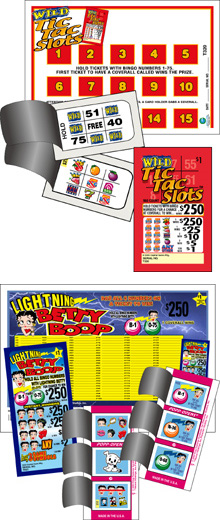 Examples of a bingo event games