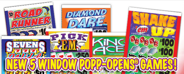 New 5 Window Popp-Opens Games!