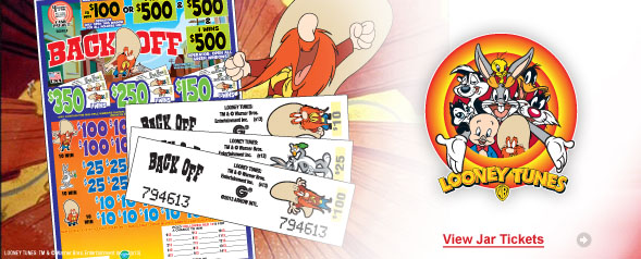 Looney Tunes Jar Tickets