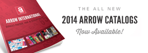 New 2014 Arrow Catalog - Available Online & Download