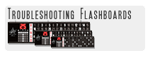 Trobleshooting flashboards